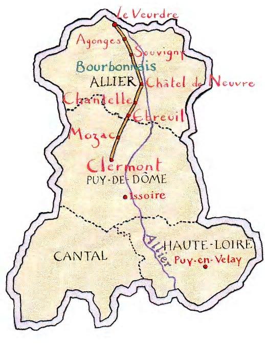 Présentation Chemin en bourbonnais